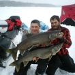 Colin Gosse & Chris Edwards with double header Lake Trout Masters