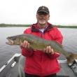 Nate McCay with his 29.5 inch Walleye