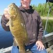 Duane Danielson Trophy Lac Seul Smallmouth